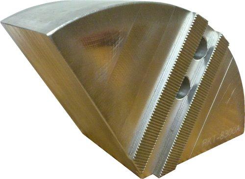 USST RKT-8300A Aluminum 6061 T6 Round Chuck Jaws for 8 CNC Lathe Chucks 3 Tall Set of 3 Pieces