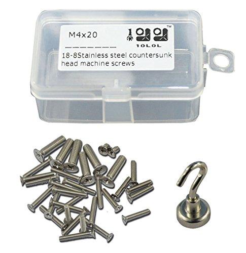 10l0l 18-8 Stainless Steel UNC Countersunk flat Head Pillips Drive Machine Screw kit 6-3238 Kit200