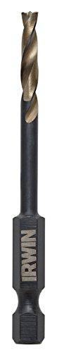 IRWIN Tools 1871027 Impact Performance Series 532-Inch Turbomax Black and Gold Drill Bit