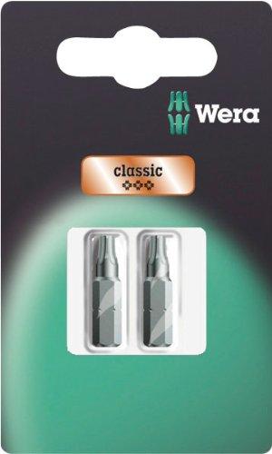 Wera 073315 1Z Professional Torx 25 Bit 2 Pack