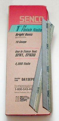 Senco 15 Gauge Finish Nails 1-34 Box Of 4000
