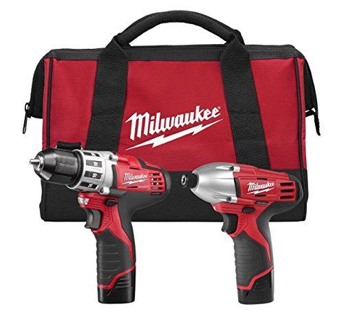 Milwaukee 2494-22 Combo Drillimpact Kit