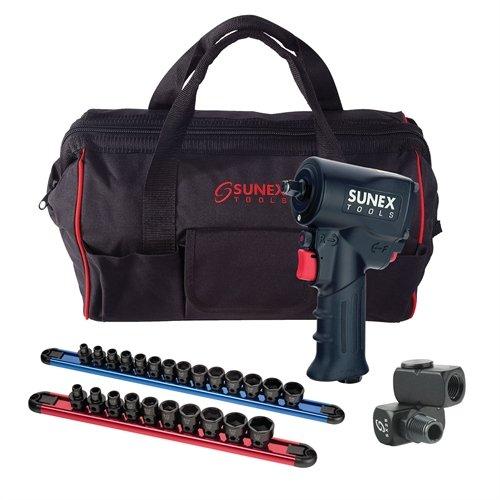 Sunex Tools SXMC38 38 MINI IMPACT KIT