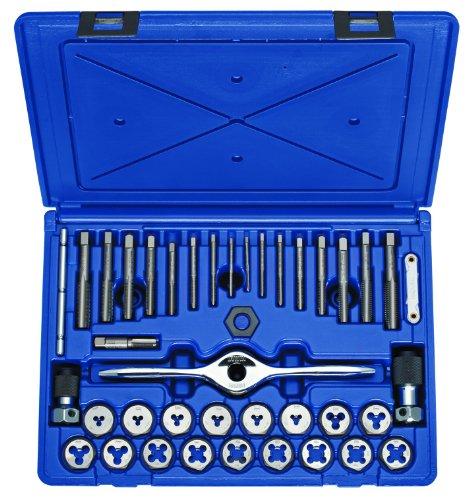Irwin Tools 1835091 Performance Threading System Tap and Die Set -Machine ScrewFractional 40-Piece