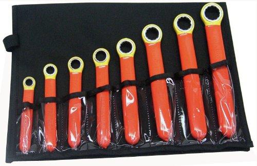Cementex IBEWS-8 Box End Wrench Set 8-Piece