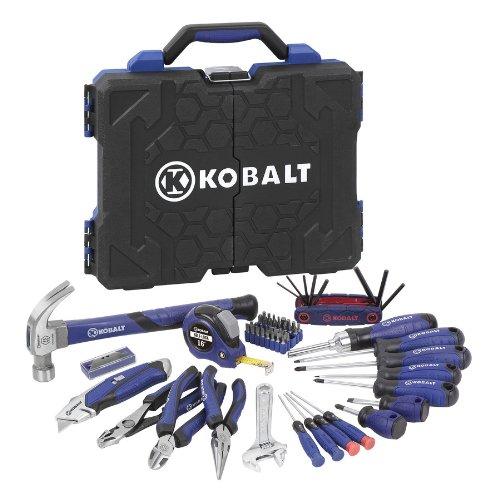 Kobalt 69-Piece Household Tool Set with Hard Case 63510