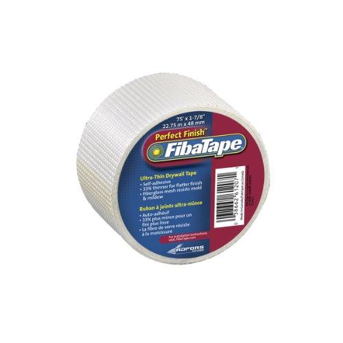 FibaTape FDW8189-U Perfect Finish 1-78-Inch by 75-Feet Ultra Thin Drywall Tape White