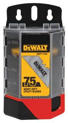 Stanley DWHT11004 Heavy Duty Utility Blade - 75 piece