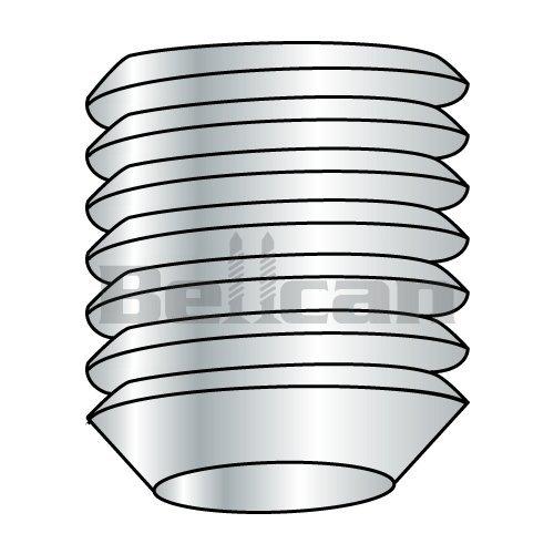 Bellcan BC-M510SSCKI Metric Socket Set Screw Knurl Cup Point Plain Imported M5 X 10 Box of 50