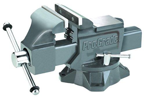 Pro-Grade 59115 Heavy Duty Swivel Bench Vice 6-Inch