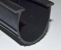 Garage Door Parts - T-end Bottom Rubber Seal Inserts 4- 4x 20