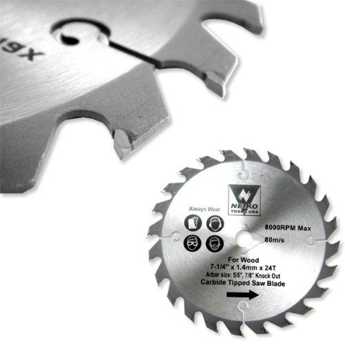 2 - 12 X 80 Tooth Carbide Tip Saw Blades