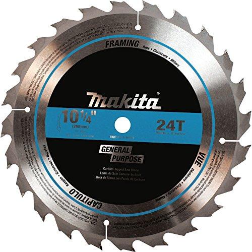 Makita A-94910 10-14-Inch Tungsten Carbide Tip Saw Blade 24-Teeth