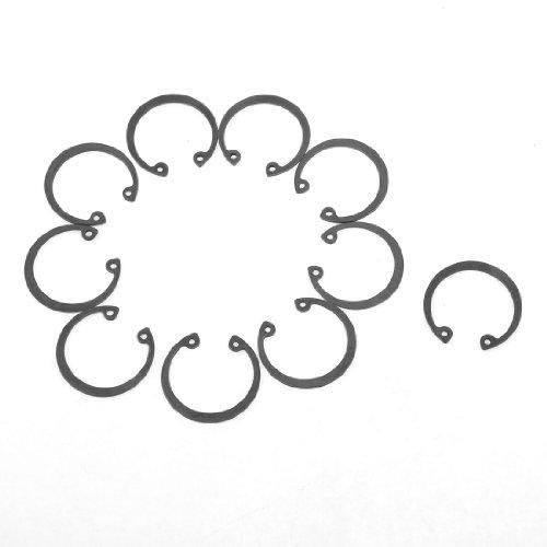 10 Pcs 27mm Inner 32mm Outer Dia Metal Bearing Internal Retaining Ring