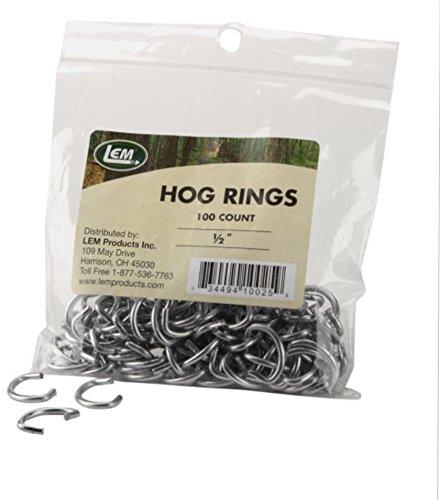 LEM Products 12-Inch Hog Rings