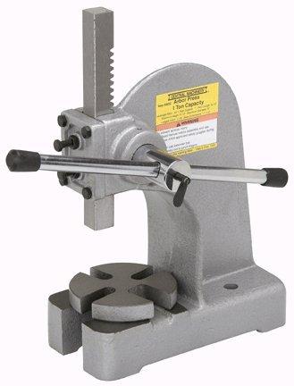 Central Machinery 1 Ton Arbor Press