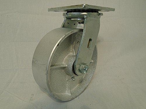 6 X 2 Swivel Caster Semi-steel Iron Wheel 1200lb Heavy Duty Tool Box