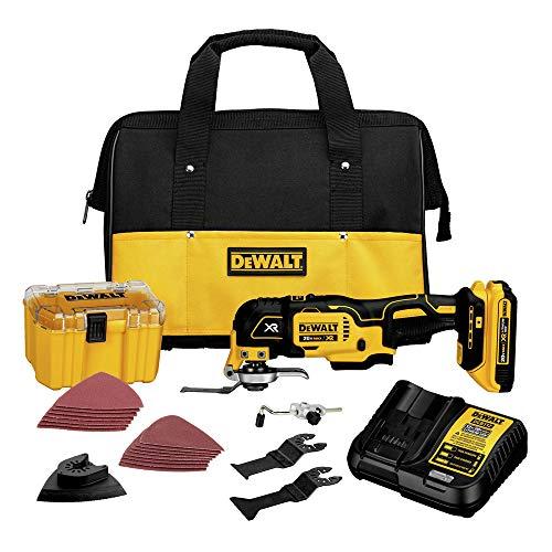 DEWALT 20V MAX XR Oscillating Tool Kit Brushless 28 Pieces DCS355D1