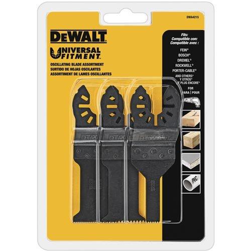 DEWALT Oscillating Tool Blades Set 3-Piece DWA4215