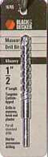 Black Decker 16735 Masonry Bits 4-Inch by 12-Inch
