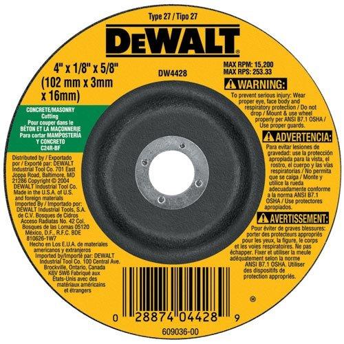 DEWALT DW4758 7-Inch by 18-Inch by 58-Inch-11 Masonry Cutting