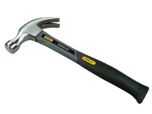 Stanley - Curved Claw Hammer Fibreglass Shaft570G 20Oz