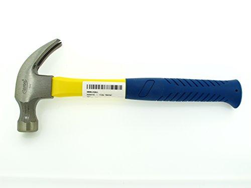 mobarel -- 16 oz Curved Claw Hammer -- Fiberclass Handle