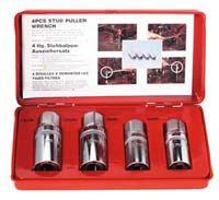 Sunex 8804 12-Inch 4-Piece Stud Puller Set