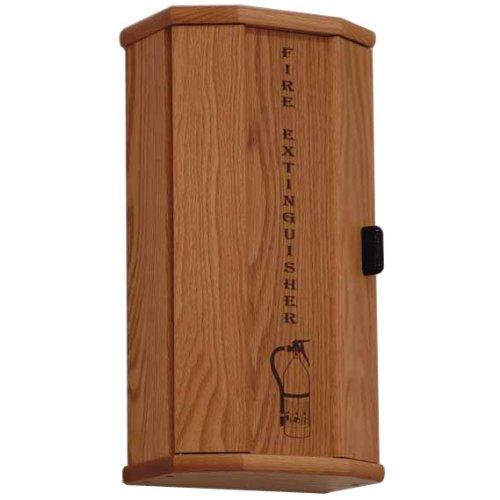 Wooden Mallet FEC10 5 lb Fire Extinguisher Cabinet in Medium Oak from ABC Office