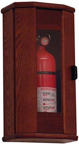 Wooden Mallet Fire Extinguisher Cabinet 5-Pound MahoganyAcrylic