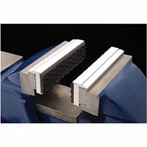Pair of Magnetic Aluminium Rubber Soft Pad Jaws For Metal Vise 3 12 Long Pads