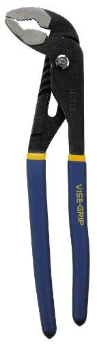 IRWIN Tools VISE-GRIP Groove Joint Pliers Gooseneck Head 12-inch 1773625
