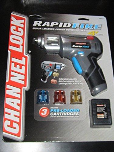 Channel Lock RapidFire Quick Loading Power Screwdriver