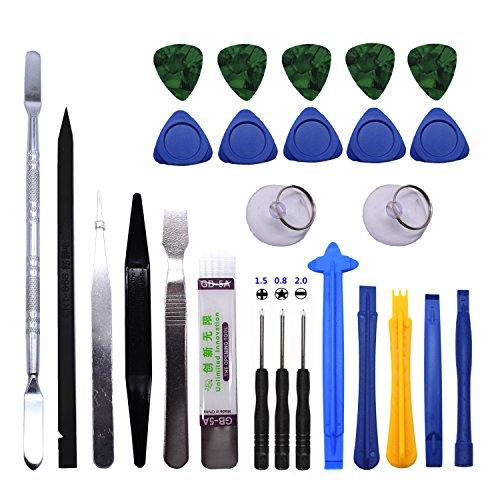 TXINLEI 26 in 1 Professional Opening Pry Tool Repair Kit for Mobile Phone Hand Tools Set