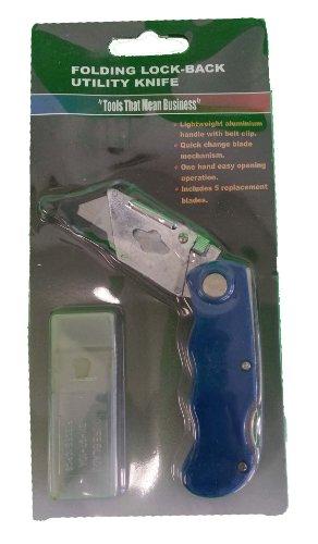 Utility Knife Folding Utility Knife Black