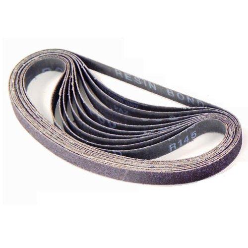 Gyros 12-1428010 1 by 42-Inch 80 Grit Aluminum Oxide Sanding Belt 10-Pack