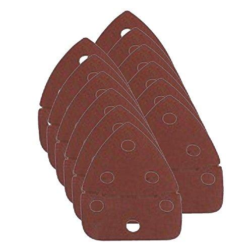 Pack of 12 Ryobi CFS1501-34 120 Grit Sandpaper for Corner Cat Sanders