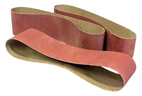 WEN 6502SP2 120-Grit 4 x 36 Belt Sander Sandpaper 3 Pack