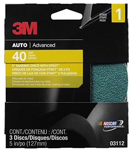3M Sanding Discs 03112 5 in 40 grit