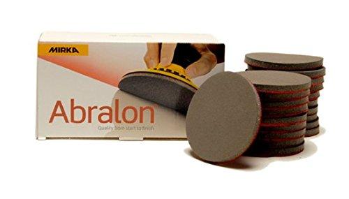 MIRKA Abralon 3 Inch 2000 Grit Sanding Discs 20 per box