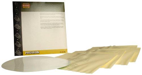 Proxxon 28968 320-Grit Self Adhesive Sanding Disc for TG 250E Silicon Carbide 5-Piece