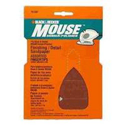 Mouse Sandpaper Assortment Finger