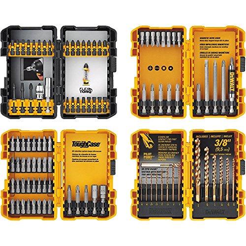 DEWALT Screwdriver Bit Set  Drill Bit Set 100-Piece DWA2FTS100