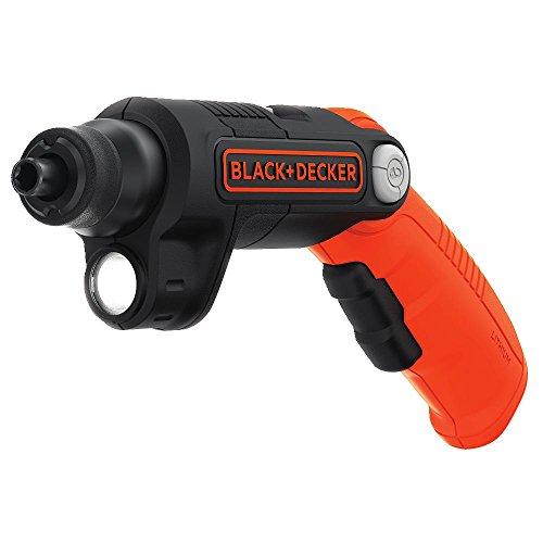 BLACKDECKER 4V MAX Cordless Screwdriver with LED Light BDCSFL20C