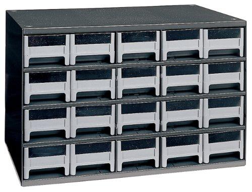 Akro-Mils 19320 20 Drawer Steel Parts Storage Hardware and Craft Cabinet Grey