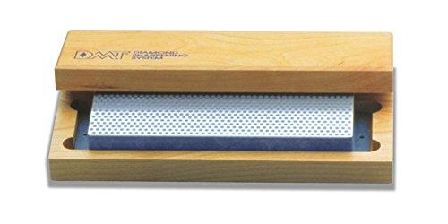 DMT W8C 8-Inch Diamond Whetstone Sharpener Coarse with Hardwood Box