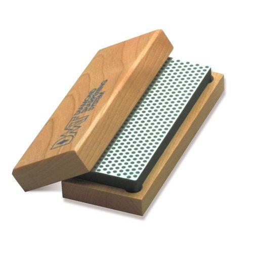 DMT W8X  8-Inch Diamond Whetstone Sharpener Extra-Coarse with Hardwood Box