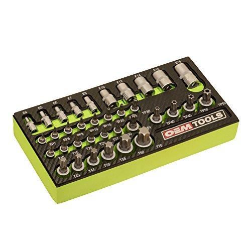 OEMTOOLS 23991 Multi-Drive Star Socket Set 35 Piece