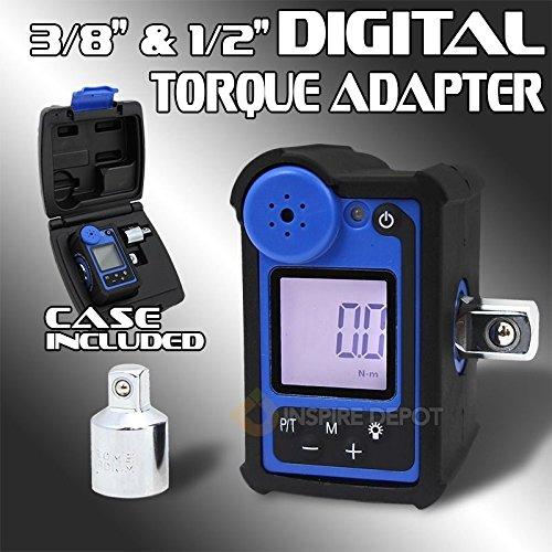 Generic QYUS4160215268 81571 Ratchet Measuring l Torqu Adapter Wrench Digital Digital Torque er Wren 12 38 147ft-lb 47ft-lb Tools Case 2 38 147ft-lb