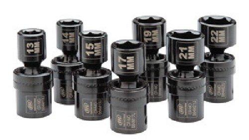 Ingersoll Rand SK4M7U 12-Inch 7 Piece Universal Metric Impact Socket Set